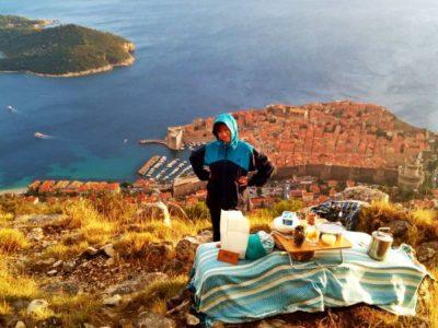 Sunset hike en picknick met gids Dubrovnik Kroatië