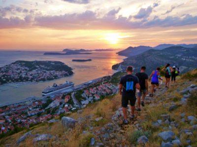 Sunset hike met gids vanuit Dubrovnik