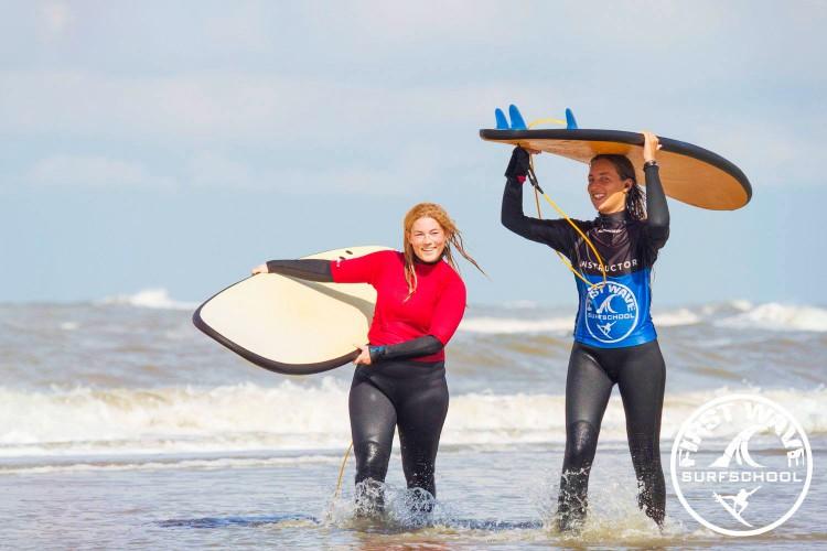 Privé surfles Zandvoort