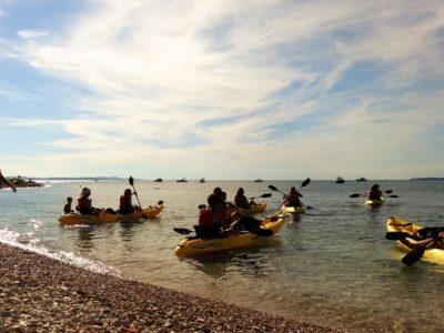 Zeekajak tour Zadar Kroatië