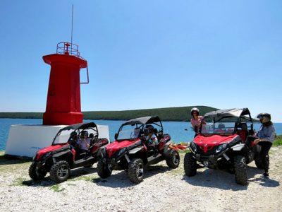 Buggy tour Barban Istrië Kroatië