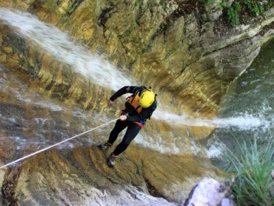 Canyoning in de Sylvensteinsee vanuit Lenggries Beieren