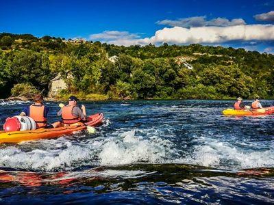 Rivierkajakken op de rivier Cetina met BBQ vanuit Split Kroatië