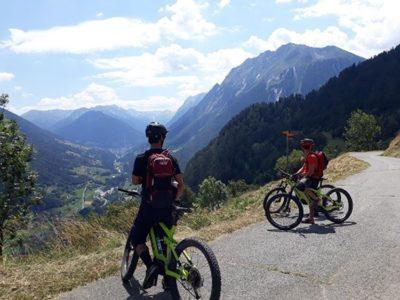 Mountainbiken door de Alpen vanuit Verbier Zwitserland