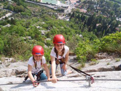 Via Ferrata Sentiero Colodri nabij Tremosine Garda Meer Italië - Basic