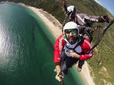 Paragliden Tandemvlucht Lissabon Portugal