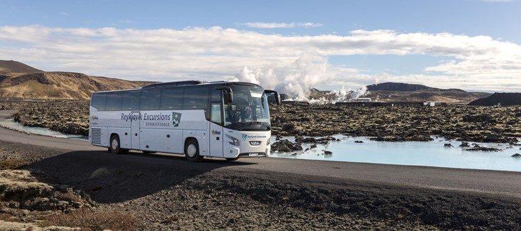 Blue Lagoon vanuit Reykjavik IJsland