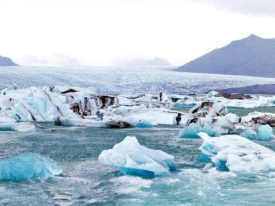 Bus excursie Gletsjermeer Jökulsárlón in IJsland
