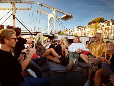 Luxueuze rondvaart door de Amsterdamse grachten