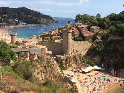 Hike langs de Costa Brava en Tossa de Mar vanuit Barcelona