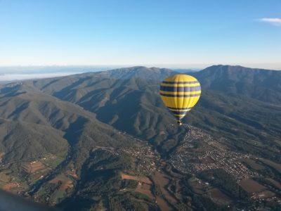 VIP luchtballonvaart nabij Barcelona