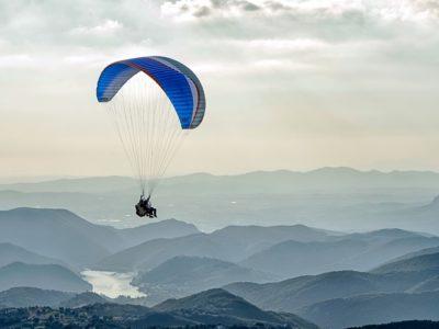 Paragliden tandemvlucht nabij Rome