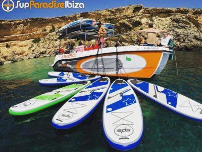 Supppen langs de mooiste baaien van Ibiza