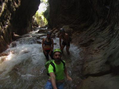 Neda Canyon river trekking