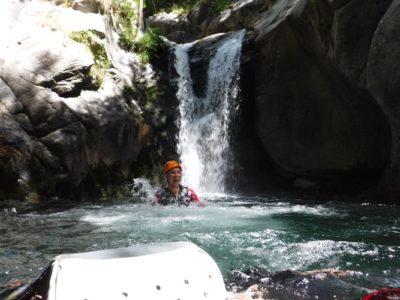 Canyoningen door de Freser kloof nabij Girona