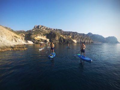 Suppen snorkelen en klifspringen op Rhodos