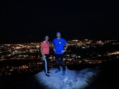 4 uur hiken Kozjak vanuit Split Kroatië - avondtocht