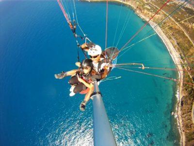 Tandemvlucht Paragliden Sicilië Italië