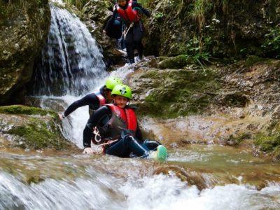 Canyoning Palvico Gardameer Italië