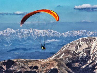 Paragliden tandemvlucht nabij Rome Italië
