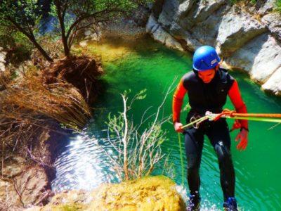 Canyoning Montanejos Spanje