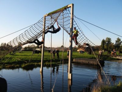 Survival tour in de Polder